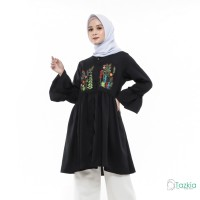 Atasan Muslim Wanita | Mena Tunik | Tazkia Hijab Store | Original