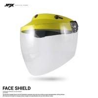 Face Shield/ Kaca APD - Yellow Doff