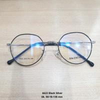 Kacamata Anti Radiasi Frame Bulat Lensa normal, minus, silinder, plus