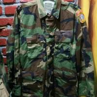 Coat Bdu woodland us young Marines kemeja us army Nos