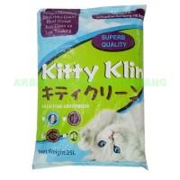 Pasir Kucing Kitty Klin Cat Litter 25L bkn Markotops Kawan Pawsitive
