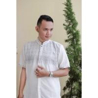 baju koko dewasa full bordir exclusive berkualitas bahan katun jaguar