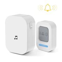 KERUI Bell Pintu Wireless Doorbell Waterproof 60 Tunes 1 Receiver