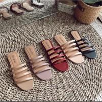 Sandal Tali Wanita Premium Busa Tebal Nyaman dipakai TP50