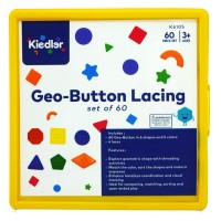 Geo-Button Lacing, set of 60