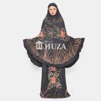 Mukena Batik Huza Lukis Warna - Orange