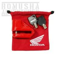 Gembok Honda Cakram original AHM