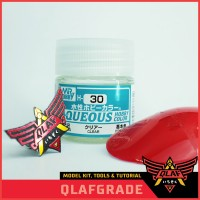 Clear H30 H 30 AQUEOS - Cat Acrylic Aribrush Model Kit