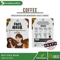 Masker Wajah Organik RGN Beauty Care Face Mask Coffee 25gr