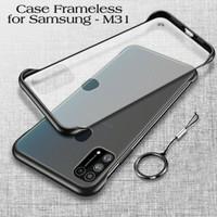 Case Samsung M31 Frameless Transparant Premium Casing Handphone