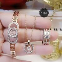 titanium set perhiasan dewasa 17u6