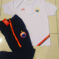 satu stel celana training & Polo Persija official SPECS 2019