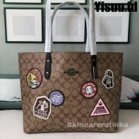 Coach Star Wars x Town Tote Bag With Patches - ORIGINAL GUARANTEE 100%
