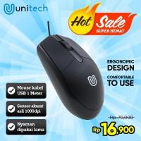 Optical Mouse G3 Unitech Wired Kabel USB 1000DPI