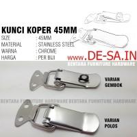 Kunci Koper Kecil 45MM - Overval Kunci Peti