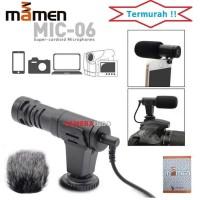 Mic MAMEN Shotgun MIC 06 vlog mic kamera Smartphone