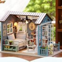 Miniatur rumah boneke / diorama / puzzle