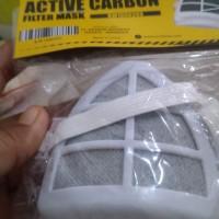 Krisbow Masker Dengan Filter Karbo - Putih
