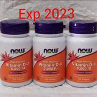 Vitamin D3 5000iu asli USA..isi 120