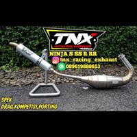 Knalpot Ninja R Spek Drag Kompetisi TNX Racing Product Not Creampie