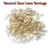 Terminal Skun Lose Pack H3555 Female - Cewe Isi 150pcs