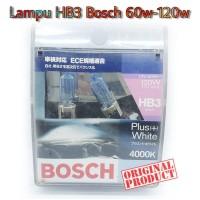 Bohlam Lampu Foglamp HB3 Bosch 60w-120w Putih Original