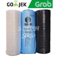 Bubble Wrap Hitam Putih 50M x 125CM Buble Plastik