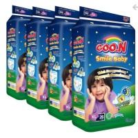 GOON Smile Baby Night Pants XL26 / M34 / L30 biru tua