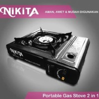 Kompor Gas Portable NIKITA 2in1