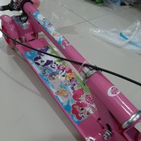 Hot Scooter Otoped Anak + Rem