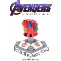 Lego Action Figure Marvel The Avengers Gauntlet Versi Iron Man