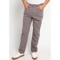 TRIPLE Celana Panjang Regular Slim (303 858 MGR) - Mid Grey