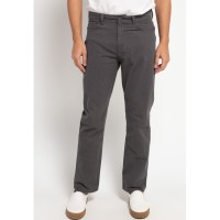 TRIPLE Celana Panjang Regular Slim (303 858 DGR) - Dark Grey