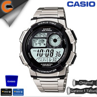 CASIO Illuminator AE-1100W Original Resmi Jam Tangan Digital Analog