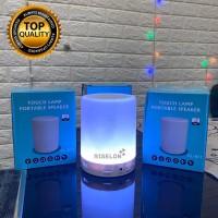 SPEAKER BLUETOOTH LED SMART TOUCH CL-671 LAMPU TIDUR BUNGLON