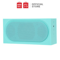 MINISO Speaker Stereo Nirkabel Bluetooth V4.2 Ringan dan Praktis - Hijau