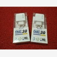CASAN CHARGER WELLCOMM FAST CHARGING 3.0A 1USB MICRO 35MENIT 80%