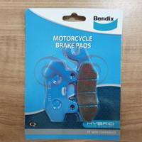 BRAKE PAD - KAMPAS REM DEPAN NINJA 250 / R / RR / Z250 BENDIX MD2