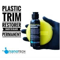 Back To Black Permanent Plastic & Trim Restorer Nanotech