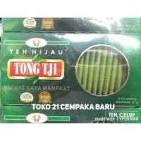 Tong Tji Teh Hijau Green Tea Celup Box isi 25s @ 50 gram  Teh Tong Tji
