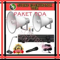 PROMO PAKET SOUND SYSTEM AUDIO MASJID TOA HORN ZH5025BM ORIGINAL GARAN