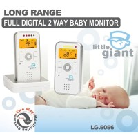 Little Giant Two Way Long Range Digital Baby Monitor - LG 5056