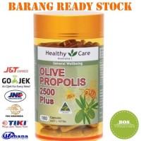READY STOCK Healthy Care Olive Propolis 2500 Plus - 180 kapsul DIJAMIN