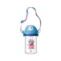 Babycare Monster Sippy Cup with Strap Tritan 360ml - Biru