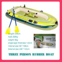 Perahu karet tiga orang(perahu karet kayak) distribusi pompa dayung