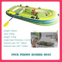 Perahu karet empat orang( perahu karet kayak) distribusi pompa dayung