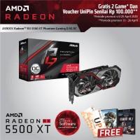ASROCK RADEON RX 5500 XT PHANTOM GAMING D 8G OC -- RX 5500XT 8GB