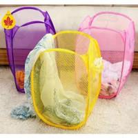 Laundry Bag/Keranjang Baju kotor Lipat/Keranjang Cucian
