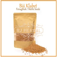 [100 gram] Biji Klabet /Methi seeds / Fenugreek Import Quality