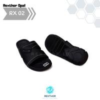 Pusat Sandal Sendal Pria Cowok Kulit Premium Kekinian Rexthor RX 02
